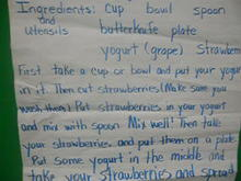 Jorja's Yummy Strawberry Yogurt Recipe